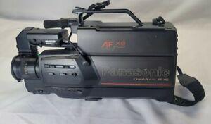 Panasonic AF X8 CCD OmniMovie VHS Camcorder Video Camera PLEASE READ DESCRIPTION