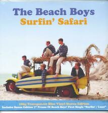 "BEACH BOYS - SURFIN' SAFARI - 12"" VINYL LP + 7"" (SEALED, BLUE VINYL, RSD 2014)"