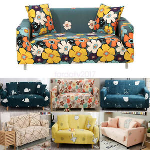 Stretch 1/2/3/4 Seaters Sofa Covers Dustproof Slipcover Living Room Decoration