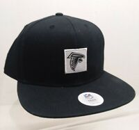NFL Team Headwear One Size Atlanta Falcons  Pull On Flat Bill Embroidered Hat