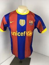 Nike Drifit Barcelona FCB Soccer Jersey Men's S 2010 2011 Unicef  MESSI #10