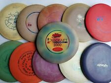 Used Lot of (12) Old School Discs Innova Discraft Lighting Gateway Disc Golf