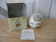Royal Doulton's Bunnykins with Box-60th Anniversary Moonlight Money Ball - Used