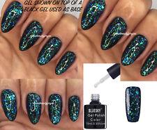 Bluesky Galaxy 07 Chameleon Flakes Nail Gel Polish UV LED Soak Off + Free Wipes