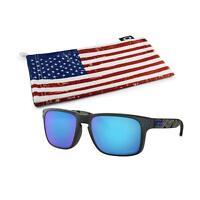 Oakley Holbrook Sunglasses (Matte Black Prizmatic Frame,, Black, Size Standard V