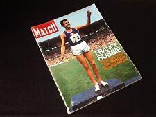 Paris Match Du 3 Octobre 1963, France Russie En Couleurs Les Images Inoubliables