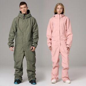Winter Ski Suit Waterproof Windproof Snowboard Set Jacket and Pant Snow Jumpsuit