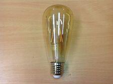 Deco Vintage Style LED  Squirrel Cage Bulb ES 4w Low Energy Lamp Edison Screw