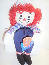 "Raggedy Andy Puppet By Applause / Hasboro 16"" Doll Brother of Ann New NWT Rare"