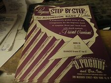 Pagani Step By Step Accordion Band Book 3 Very Good Condition Shop Waz 4 Music