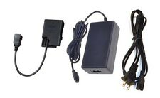 AC Adapter + Power Connector for Nikon D5200, D5600, D3400, DIGITAL SLR