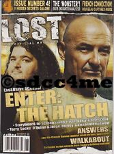 LOST The Official Magazine #4 Newsstand Edition with Rare Season 2 Poster