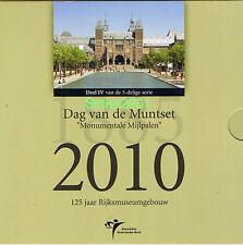 Euro OLANDA 2010 Dag Van De Munt Folder Ufficiale