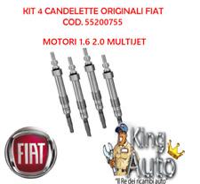 KIT 4 CANDELETTE ORIGINALI ALFA ROMEO GIULIETTA MITO 159 1.6 2.0 JTDM