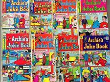 8 Archie Comics Bronze Age  JOKE BOOK Betty Veronica JUGHEAD (Lot A30)