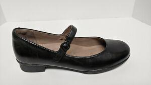 Dansko Kaelyn Mary Jane Shoes, Black, Women's 39 EU (US 8.5-9)