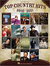 Top Country Hits 2010-2011 Piano Vocal Guitar Songbook Brand New