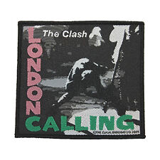 Clash London Calling Woven Embroidered Sew Iron On Patch