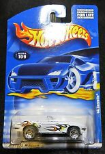 2001  Hot Wheels  '65 Corvette  Card #109  Sting Ray  Flames   HW-18