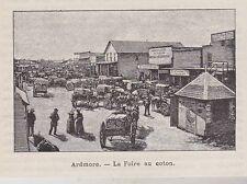 1894  --  ARDMORE  FOIRE AU COTON   3I007