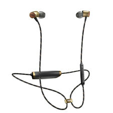 House of Marley Uplift 2 Wireless Rechargeable Bluetooth Audio Earphones, Brass