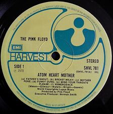 PINK FLOYD ATOM HEART MOTHER LP 1970 PSYCH FREAKBEAT ROCK PROG GATEFOLD COVER
