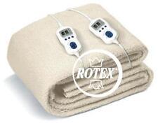Scaldaletto elettrico matrimoniale Johnson relax scalda letto sonno - Rotex