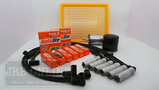 HOLDEN VT, VX, VY,VU,WH V6  AIR FUEL OIL SPARK PLUG + LEADS SERVICE KIT 96-03