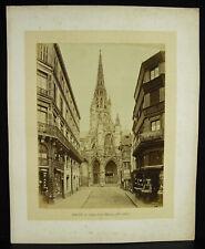Photo Eglise Saint-Maclou Rouen Au Prince Eugène chapelier 1880 place Barthélémy
