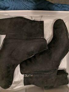 I Love Billy Boots. Black Size 10 BNWT