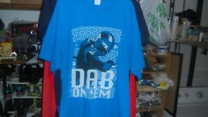 CAM NEWTON DAB ON;EM T-SHIRT SIZE XL VERY NICE CONDITION