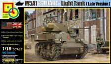 Classy Hobby MC16006 M5A1 - Stuart - US Light Tank - Late Version - 1:16
