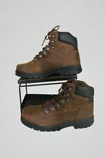 Wolverine Steel Toe Work Boot W08094 Brown Leather Size 11 M Slip Resistant