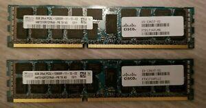 16GB  Hynix (2 x 8GB) 2Rx4 PC3-12800R HMT31GR7CFR4A - PB ECC REG RAM 15-13637-01