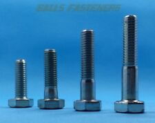 UNF 3/4 Zinc Plated Hex Head Bolt Steel Grade S (8.8) Unified Fine BS1768