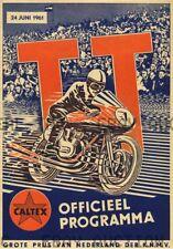 Dutch TT Assen 36th Anniversary Poster Print Image  ca 8 x 10 print prent poster