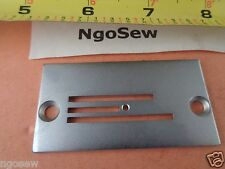 SINGER 20U  20U-11  20U-13  20U-23 STRAIGHT STITCH SEAMING NEEDLE PLATE #541937