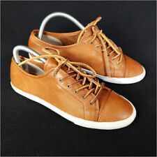 Frye Sneakers Shoes Brown Women's 8 M Low Top Lace Up Leather