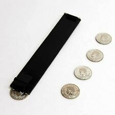 Magician's Coin Slide Dropper Gimmick For Coin Routines & Production Magic Trick