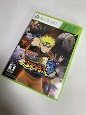 Microsoft Xbox 360 Naruto Shippuden Ultimate Ninja Storm 3 Game Guaranteed