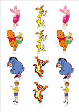 Novelty Winnie The Pooh Mix Edible Cake Cupcake Toppers Decorations Birthday Fun