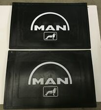 Pair of MAN Mudflaps - 600mm x 400mm