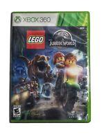LEGO Jurassic World (Microsoft Xbox 360, 2015) New (Factory Sealed)
