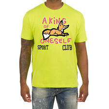 Akoo Clothing Men's T-Shirts Short Sleeve Cotton Fashion Sport Club Snobby Tee