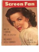 SCREEN FAN MAGAZINE - June, 1954 - JANE RUSSELL