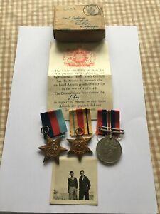 WW2 El Alamein casualty group