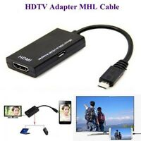1pc Micro USB zu HDMI 1080 P HDTV MHL Adapter Konverter Draht für Android Phone.