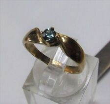 Solitaire Not Enhanced Natural Sapphire Fine Rings