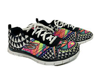 Womens Skechers Flex Appeal Arrowhead Edition Knit Running Shoes Size 5