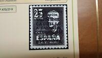 DIFÍCIL EDIFIL 1090*EXCELENTE CANARIAS  CENTRAJE DE LUJO OFERTA ÚNICA Y ESPECIAL